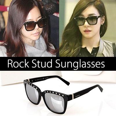 少女時代ジェシカ、SUNNY、韓国女優パク·ハンビョル、 フェリス·ヒルトンなどセレブに人気!Luxury Rock Stud Sunglasses
