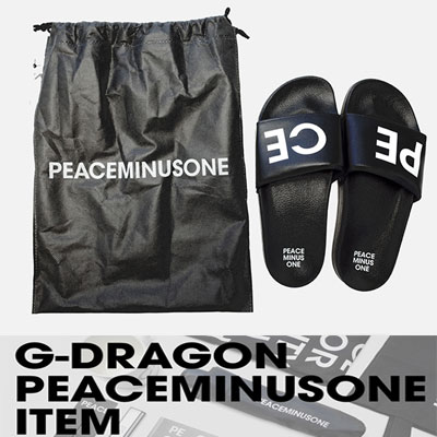 BIGBANGのG-DRAGONのグッズPEACEMINUSONE SLIPPER