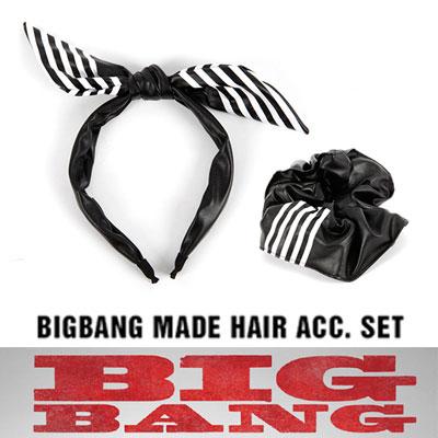 BIGBANG MADE 公式グッズ[HAIR BAND SET/ヘアバンドセット]WORLD TOUR MADE MD LIST[正規品]