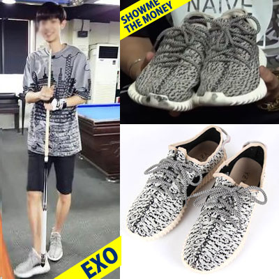EXOチャニョル、G-DRAGON、SHOW ME THE MONEY、 カニエ・ウェストSTYLE!LUXURY LOW SNEAKER(SML)