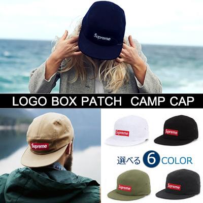 人気ラッパーBeenzino style!選べる6カラーのオシャレなキャンプキャップ!ロゴボックスパッチキャンプキャップ/ Logo Box   Patch Camp Caps