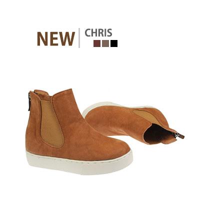 韓国子供靴[BUDY/CHRIS HIGH TOP SNEAKERS]サイドのバンディングでフィット感が楽~スリップオンスタイルハイトップ  スニーカー(3Colors)