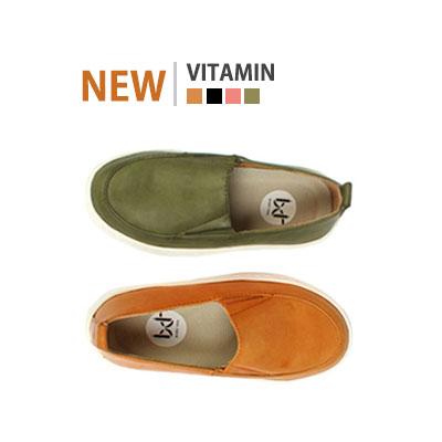 韓国子供靴[BUDY/VITAMIN SNEAKERS]爽やかなカラー感とシンプルなデザインでコーディネートしやすいローファー (4Colors)