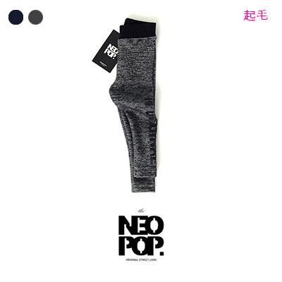 [韓国子供服[NEOPOP/ORIGINAL LEGGINGS]コットン100%起毛素材!ユニークなオリジナルレギンス