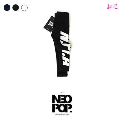 [韓国子供服[NEOPOP/P1 LEGGINGS]起毛素材!少し伸縮性のあるユニークなP1レギンス