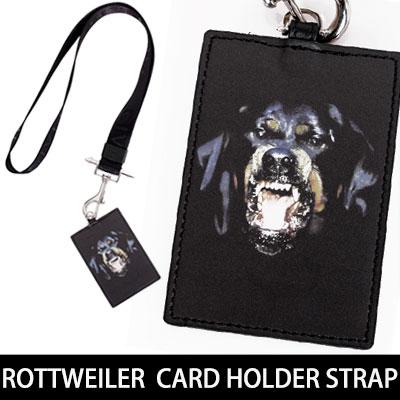 ★高クオリティ★人気のロットワイラーカードホルダーストラップ発売完了!ROTTWEILER  CARD HOLDER STRAP