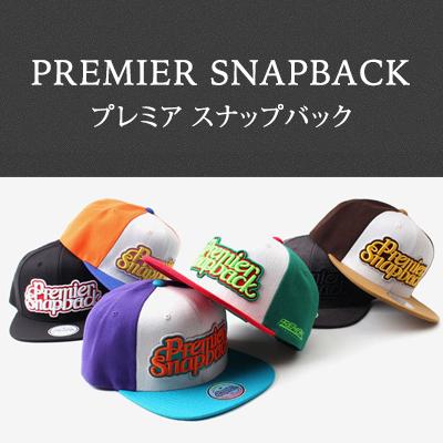 豊富なカラーバリエーション☆プレミアスナップバック★PREMIER SNAP BACK