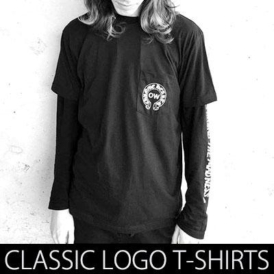 話題のストリートブランドコラボスタイル!クラシックグリフプリント半袖Tシャツ/CLASSIC  LOGO SHORT SLEEVE TE