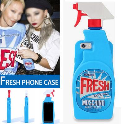 2NE1 C.L スタイル!ユニークでユーモラスなファッションアイテムとしても素敵!フレッシュフォンケース(iPhone 5/5S,iPhone6/6S,iPhone 6+/6+S)
