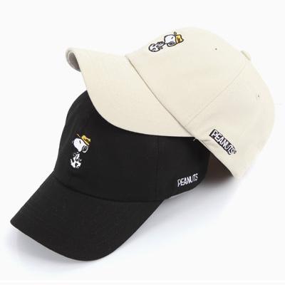 イエローキャップスヌーピー刺繍ボールキャップ(4COLOR)/コラボキャップ/YELLOW CAP SNOOPY BASEBALL CAP