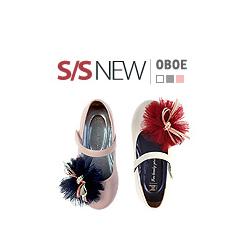 キッズシューズ/子供靴 BUDDY KIDS/オーボエフラット/S/S OBOE FLAT(14cm~22cm)/3COLORS(IVORY,SILVER,PINK)