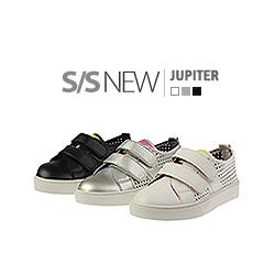 キッズシューズ/子供靴 BUDDY KIDS/ジュピタースニーカー/S/S JUPITER SNEAKERS(15cm~23cm)/3COLORS(WHITE,GRAY,BLACK)