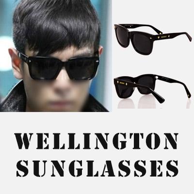 ビッグバンTOPファッション/シックなデザインのアイウェア/ウェリントンサングラス/WELLINGTON SUNGLASSES