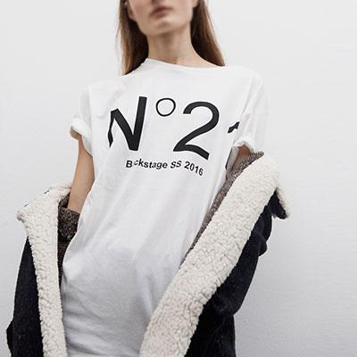 少女時代ユリなど海外セレブファッションスタイル!21ナンバーリング半袖Tシャツ(WHITE,RED,BLACK)