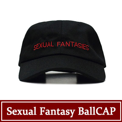 強烈なブラックとレッドの色合い!SEXUAL FANTASY BALLCAP