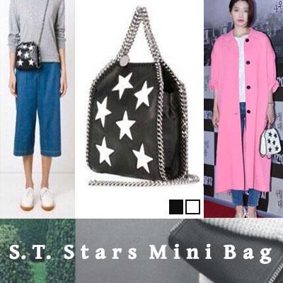 韓国女優パク・シンヘスタイル!存在感抜群のS.T.スターズミニバックS.T. STARS MINI BAG