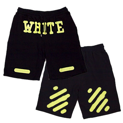 OFF st. FLUO PRINTED GRAFFITI SHORTS(UNISEX)/ハーフパンツ-