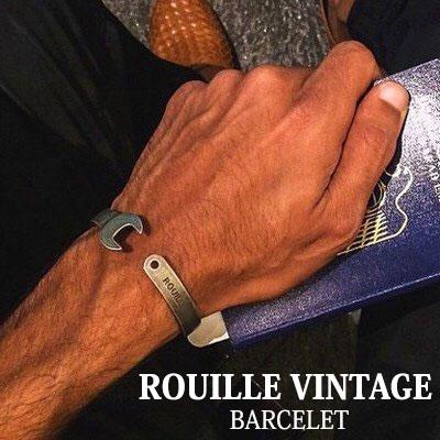 [今,海外で大人気!]ROUILLE VINTAGE BARCELET(FREE SIZE, UNISEX)/ブレスレット