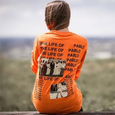 爽やかなオレンジ色!フォトアンドライフロゴ半袖Tシャツ