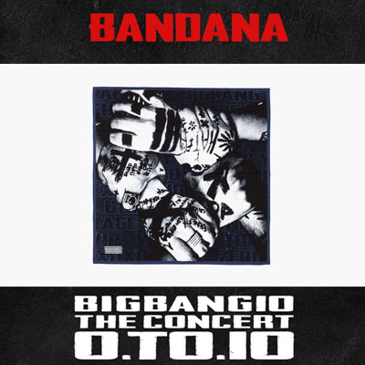 【公式グッズ】BIGBANG10周年公式グッズ!BIGBANG BANDANA/韓流STAR コンサートグッズ/応援グッズ