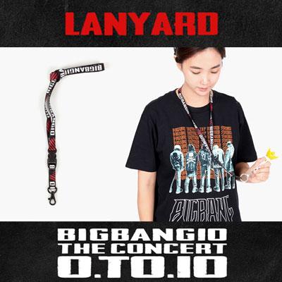 【公式グッズ】BIGBANG10周年公式グッズ!BIGBANG LANYARD/韓流STAR コンサートグッズ/応援グッズ