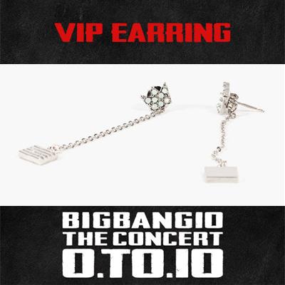 【公式グッズ】[BIGBANG MADE][10th]BIGBANG VIP イヤリング