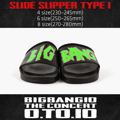 【公式グッズ】[BIGBANG MADE][10th]スライドスリッパーSLIDE SLIPPER TYPE 1