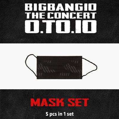 【公式グッズ】[BIGBANG MADE][10th]BIGBANG BLACK MASK/ブラックマスク