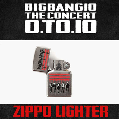 【公式グッズ】[BIGBANG MADE][10th]BIGBANG ZIPPO LIGHTER/ジッポライター