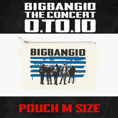 【公式グッズ】[BIGBANG MADE][10th]BIGBANG POUCH MEDIUM/M size