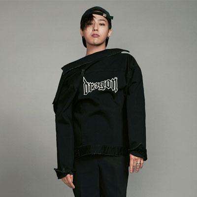 [8 X GD's PICK (正規品)]ブラックデニムダメージトラッカージャケット