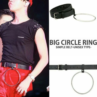 BIGBANG G DRAGONスタイル超ユニークなデザインのビッグリングベルト