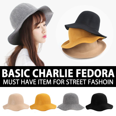 ベーシックチャーリーフェドラ!ストリートファッションの必須アイテム