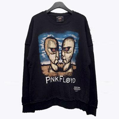 プリントだけでなく、ヴィンテージさまで、魅力的なスウェットシャツ登場!モアイフロイドヴィンテージスウェットシャツ