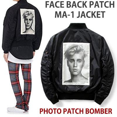 フェイスバックパッチMA-1ボンバージャケット