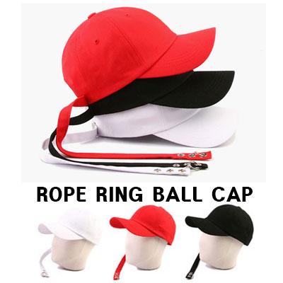 ロープリングボールキャップ/ROPE RING BALL CAP