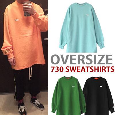 オーバーサイズ730スウェットシャツ