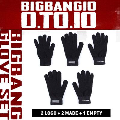 【公式グッズ】(正規品)BIGBANGグローブセット