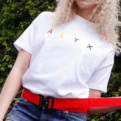 カラフルロゴショートスリーブTシャツ/半袖
