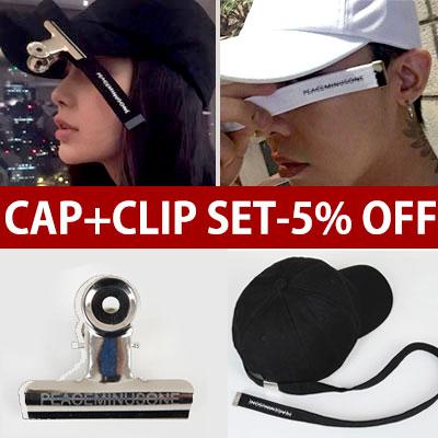 ★CAP 50%OFF★当日発送★(SET -5%)CLIP+スーパーロングストラップボールキャップロゴプリントバージョン/G-DRAGON スタイル