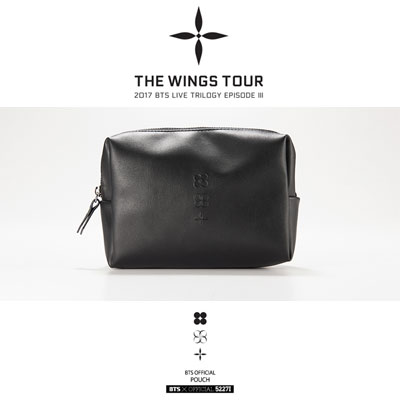 【BTS公式グッズ】POUCH [THE WINGS TOUR]
