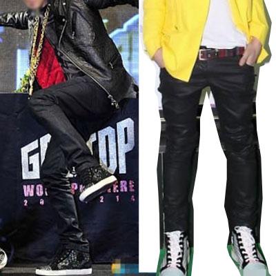 BIGBANGのG-DRAGONとTOPが着用したa@ne'stコーティングデニムパンツ