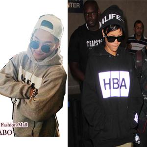 BIGBANG SOLとヤンゲン着用HBA st. ベーシックパーカー(3color)