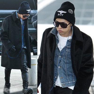 ★ファッショニスタ★G-DRAGONも着用★人気帽子★BOY LONDON st.Eagle Boyプリンティングニット帽