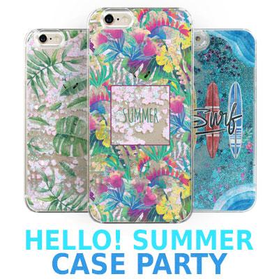 HELLO!SUMMER CASE PARTY/スマホカバー/バラエティ30タイプ/ Galaxy/ iPhone