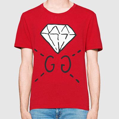 NCT STYLE!ダイヤモンドショートスリーブTシャツ/半袖