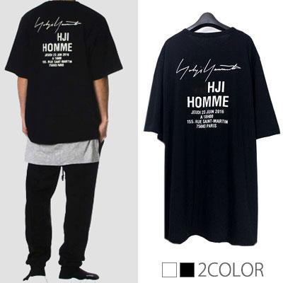 サインロゴショートスリーブTシャツ/半袖