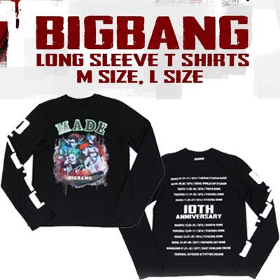 【公式グッズ】BIGBANG LONG SLEEVE T-SHIRTS
