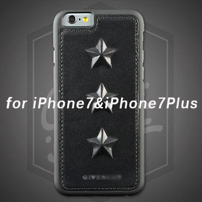 iphone7 【ラグジュアリースタイル】 iPhone用/ダーク3スタースマホカバー/スマホケース