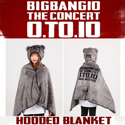【公式グッズ】KRUNK X BIGBANG HOODED BLANKET